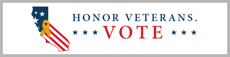 Honor Veterans. Vote.